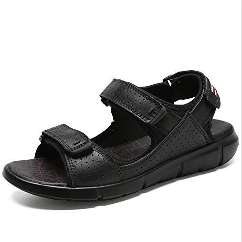 27 Men's pantofole spiaggia Wagsiyi 24 Magic Nero Scarpe Sandal Beach 0 Sports Stick Outdoor CM da Traspiranti Sandali 0 Shoe qOwEBCw