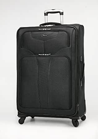 Skyway Luggage Sigma 4 28-Inch 4 Wheel Expandable Spinner Upright, Black, One Size