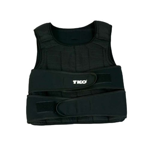 TKO 244WV Adjustable 40-Pound Weighted Vest by TKO