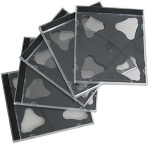 Lindy 40670 Custodia CD//Dvd 2 Dischi Nero