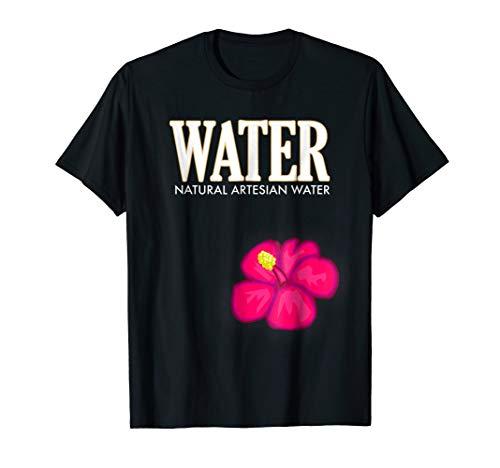Water Bottle Halloween Costume T-Shirt H2O Drink Men -