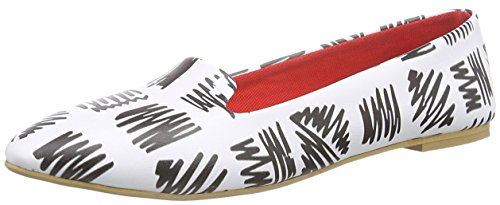 Slippers Nbl226 Neefs Mujer Para Blanco Negro R5fqAx