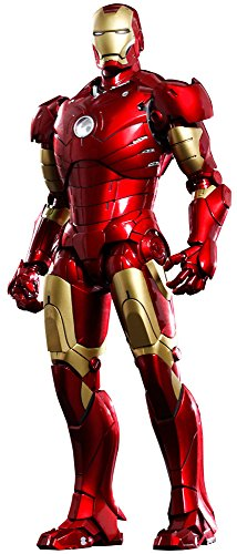 Iron Man Movie Masterpiece Iron Man 1/6 Collectible Figure [Mark III] (Mark Iron Iii)
