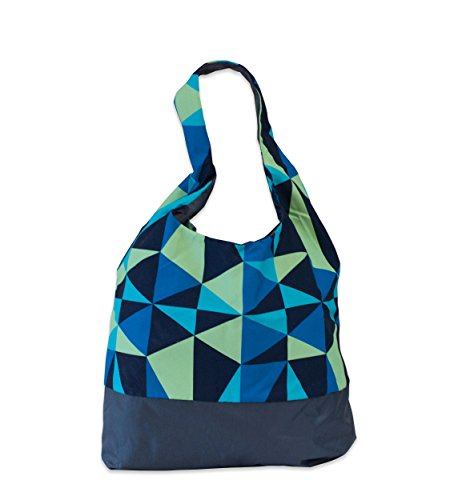 PACMAT, Borsa tote donna turchese Blue
