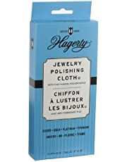Hagerty 15700 12-by-15 Jewelry Polishing Cloth, Gray