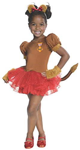 Rubies Wizard of Oz 75th Anniversary Collection Cowardly Lion Tutu Dress Costume, (Lion From Wizard Of Oz Costume)