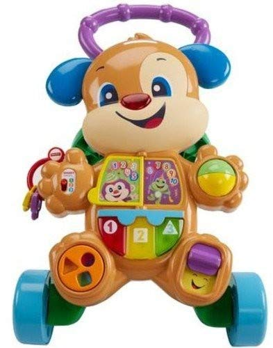 Fisher-Price Laugh & Learn Smart Stages Learn with Puppy Walker (Best Baby Walker For 1 Year Old)