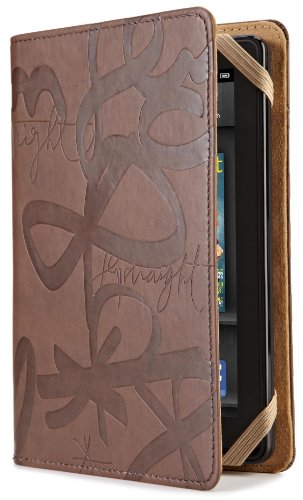 verso-urban-calligraphy-case-cover-by-sisters-gulassa-fits-kindle-fire-brown-tan-does-not-fit-kindle