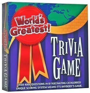 Worlds Greatest Trivia Game