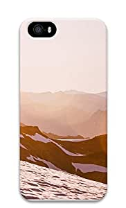 iPhone 5 5S Case landscapes nature snow mountain 18 3D Custom iPhone 5 5S Case Cover