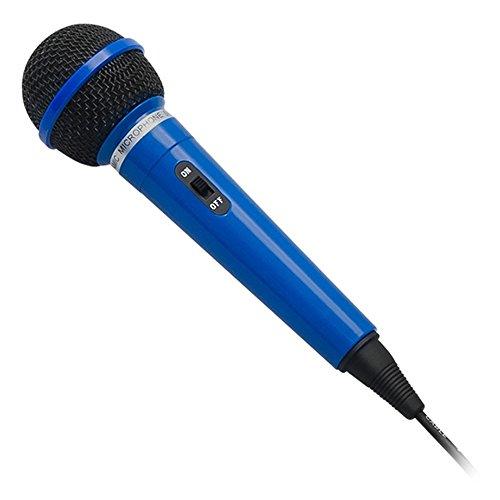 PR-M-202 Dynamisches Mikrofon 6,3mm Gesangsmikrofon Bühnengesangsmikrofon Karaoke Handmikrofon Blau