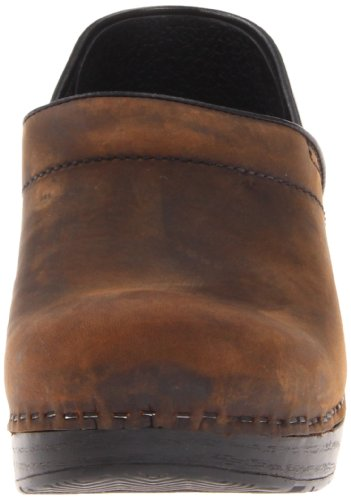 Taglia Dansko Zoccoli Pelle Brown Professional Antique TWvgqYw