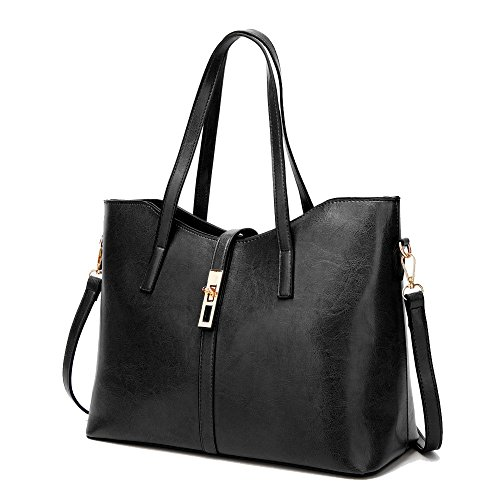 Black Bandoulière Des Sacs Vintage Femmes Bandoulière Voyage Main De Sacs à Shopping Mode La Simple Sac à à Fq6TXp