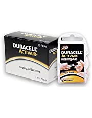 40 Duracell Hearing Aid Batteries Size: 312