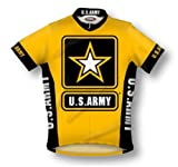Primal Wear U.S. Army Cycling Jersey Men's Large Short Sleeve USA Military