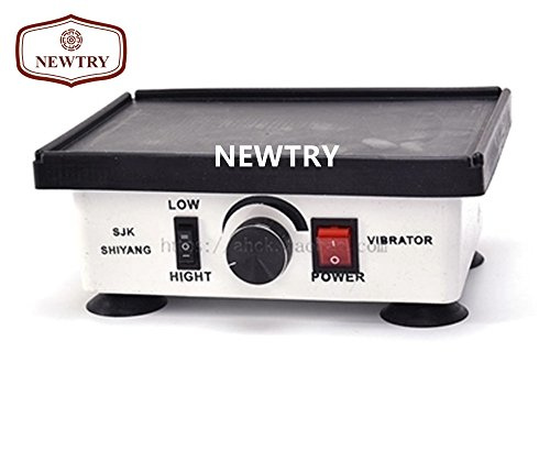 NEWTRY AD-I143 130W Small Square Strong Powerful Gypsum Oscillator Plaster Vibrator Shaker Lab Oscillator (220V) by Newtry