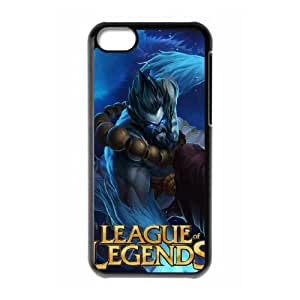 League Of Legends iPhone 5c Cell Phone Case Black Delicate gift AVS_699581
