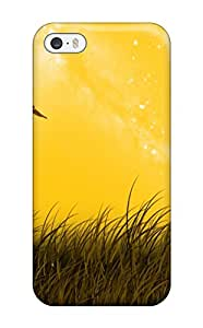 Snap-on Landscape Lanscape With Birds Digital Case Cover Skin Compatible With Iphone 5/5s