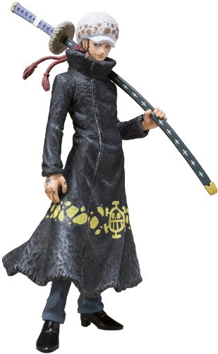 Bandai Tamashii Nations Trafalgar Law Oka Shichibukai Version One Piece Figuarts Zero Toy Figure
