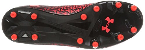 Under Armour Men's Ua Cf Force 3.0 Fg Footbal Shoes Black (Black / Neon Coral) 44vrH