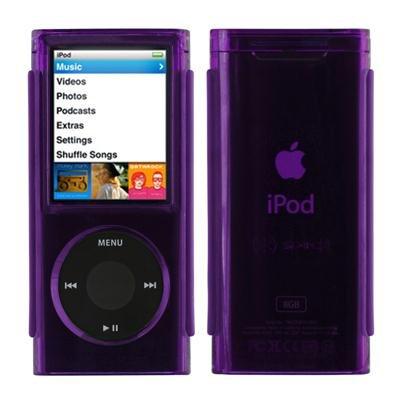 Speck Ipod Nano Case - Speck NN4-SEE-PUR See Thru Acrylic Case for iPod Nano 4G - Purple