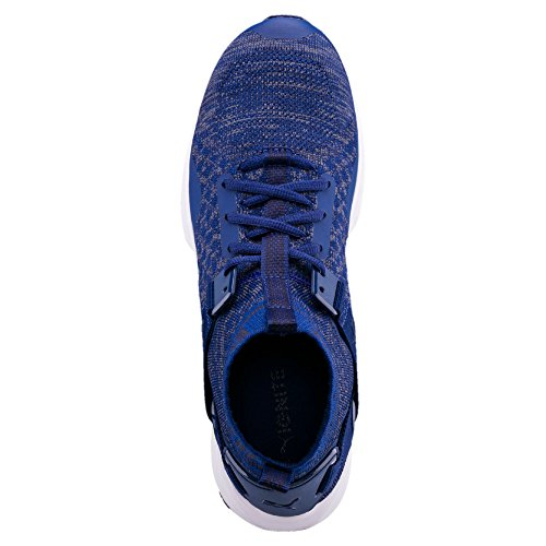 de Chaussures Adulte Puma Mixte Compétition Evoknit Ignite Bleu Running qtEzpw