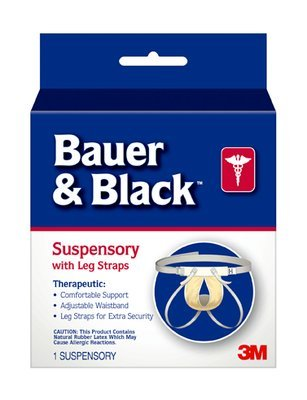 Bauer&Black(TM) 0-2 Suspensory W/Leg Strap 201255 by 3M