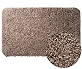#9: Clean Step Mat Super Absorbent Doormat As Seen On Tv Color Brown size 18