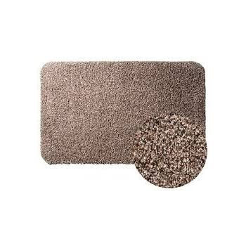 "Clean Step Mat Super Absorbent Doormat As Seen On Tv Color Brown size 18"" x 28"""