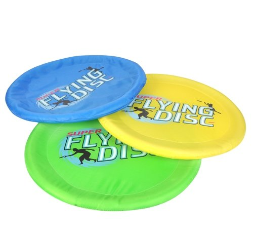 18'' FLYING DISK, Case of 36 by DollarItemDirect