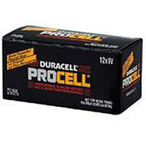 Battery Alkaline Pro Bx12/9v by P & G/ Duracell