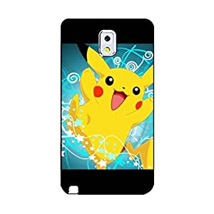 Samsung Galaxy Note 3 N9005 Really cute Magnificent Design Pocket Monster Mobile Case,Plastic Professional Pikachu Print Mobile Case for Samsung Galaxy Note 3 N9005