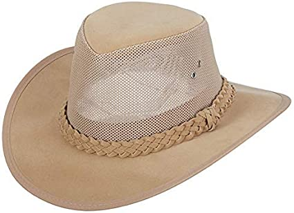 Dorfman Pacific Co Mens Soaker Hat with Mesh Sides