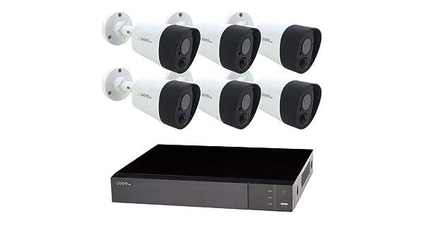 New Q-See QTH98-2 8 Channel 1080P BNC Analog Secuirty DVR w 2TB /& PIR Support