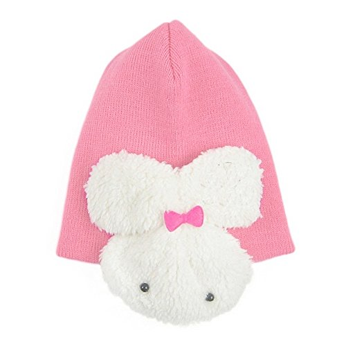 [Winter Cute Carton Knitting Wool Baby Cap Hat Toddler Kids Rabbit Earflap Hat Children Toddlers] (Homemade Character Costumes Ideas)