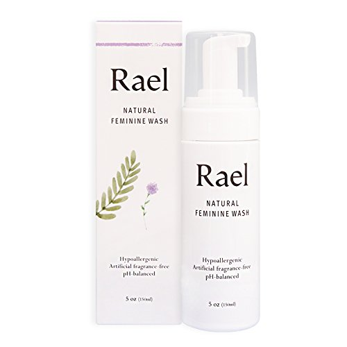 (Rael Natural Feminine Cleansing Wash - For Sensitive Skin - Light and Fresh Scent (150 ml ( 5 oz )))