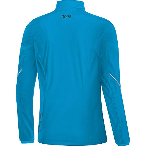 GORE Wear Women's Windproof Running Jacket, R3 Women's Partial WINDSTOPPER Jacket, Size: L, Color: Dynamic Cyan, 100081 by GORE WEAR (Image #3)