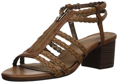 - Aerosoles A2 Women's MID Range Sandal, Brown Combo, 8 M US