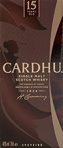 Whisky Cardhu 15 Años
