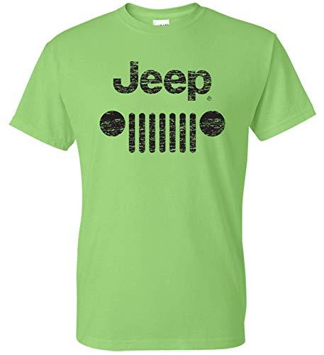 Amazon.com: Mojito! Camiseta con logotipo de Jeep Grill, L ...
