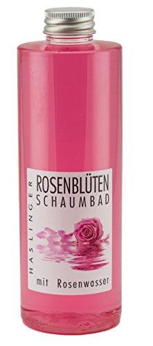 Rosenblüten Schaumbad mit wertvollem Rosenwasser, 400ml