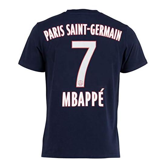 PSG T-Shirt Kylian MBAPPE - Collection Officielle Paris Saint Germain - Taille Enfant garçon