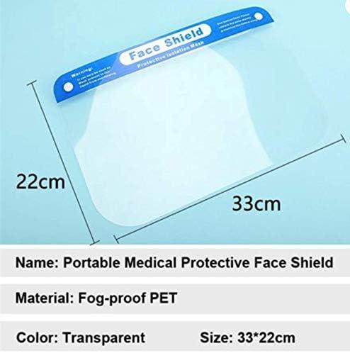 Cflagrant/® Visi/ère Masque de Protection Complet Enti/èrement Mont/é pr/êt /à lemploi Anti Projection Anti Bu/ée