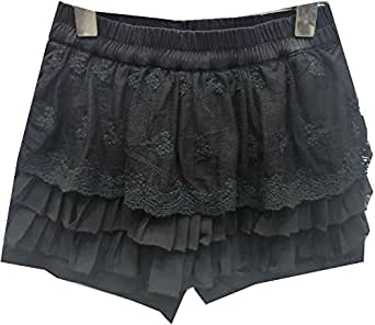 Jojo Black Culottes For Girls