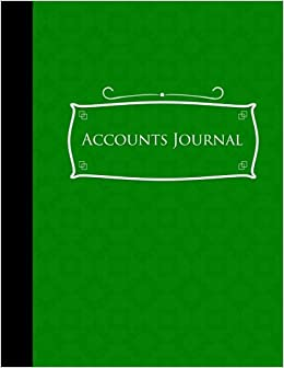 amazon com accounts journal account book journal bookkeeping