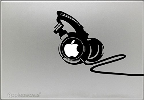 Professional Headphones Macbook Air pro Stickers product image