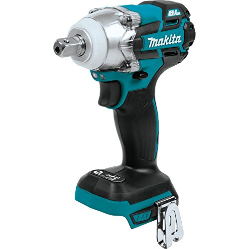 "Makita XWT11Z 18V LXT Lithium-Ion Brushless Cordless 3-Speed 1/2"" Sq. Drive Impact Wrench, Tool Only"
