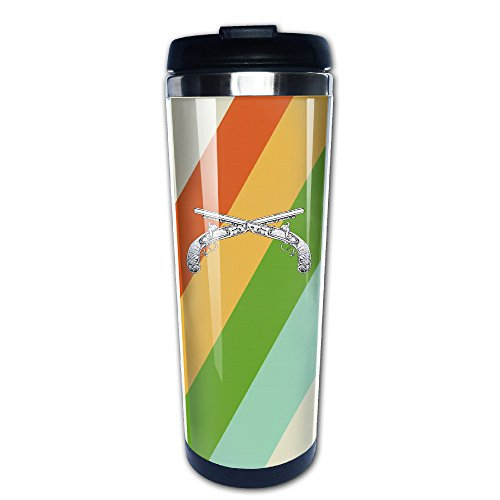 Old Pistols Travel Tumbler