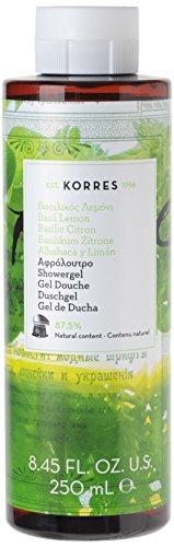 Korres Basil Lemon Fresh Tones Shower Gel - Korres Green