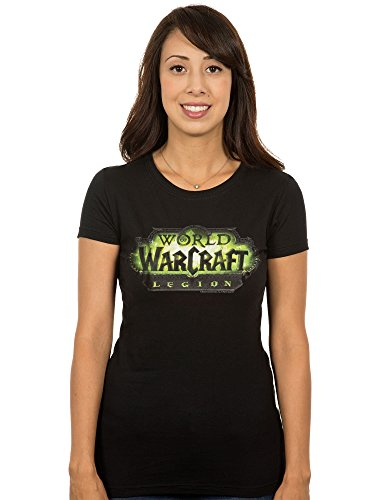 JINX World of Warcraft: Legion Women's Logo Premium Cotton/Poly T-Shirt